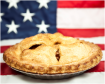 flag and apple pie